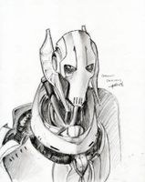 Grievous: Deadly Look by theREDspy