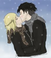 On Ice - Yurio x Otabek by malisvaart