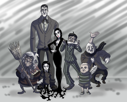 Addams Family by TSoutherland