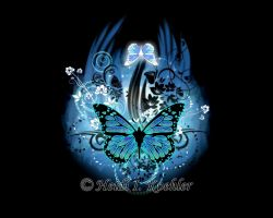 Butterfly Wallpaper by 12monthsOFwinter