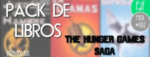 Packdelibros #002 The Hunger Games SAGA by ValeHooligan