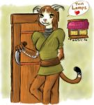 Khajiit of the Twin Lamps by lamarble