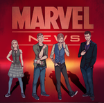 Commissions: Marvel News by ymymy