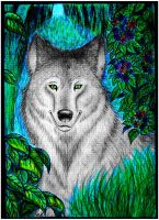 Wolf by M-K-1