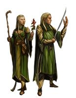 Cosmos RPG: Elves by OlieBoldador