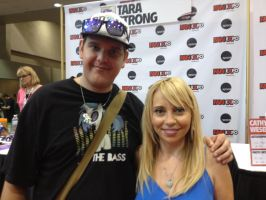 Me with MLP's Tara Strong (Twilight Sparkle) by XxFlamerunnerxX