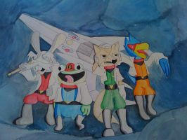 we are starfox by pawch
