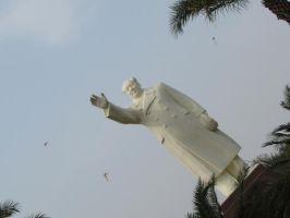 Mao Zedong Statue China by OhioErieCanalGirl