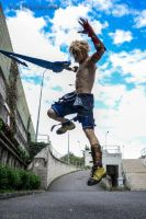 Tidus OVERDRIVE Dissidia 012 Cosplay by Leon Chiro by LeonChiroCosplayArt