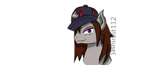 my oc in a different hat lel by jashinist112