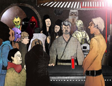 Star Wars Cantina by celsiusdrop