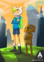 Adventure Heroes [ Jake x Finn ] by faruuk-sama