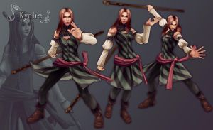 Kyalie new version - poses by Umerean