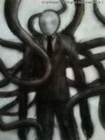 Slender Man by carlfabon