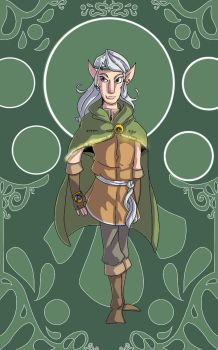 Realm of Fantasy: Elf by TheFloatinghat