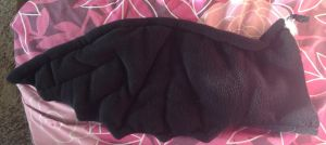 Toothless Night Fury Plush Wing by laurilolly-crafts