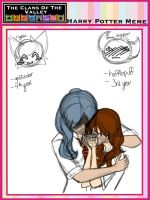 Wish x Lily - Hogwarts AU and small story below by momma-SHIN