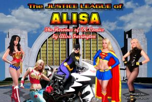 Justice League of Alisa by KustomKomiks