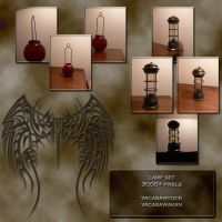 Lamp set wicasa-stock by Wicasa-stock