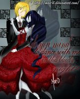 Do you mind to dance with me in this bloody night? by Mae-D