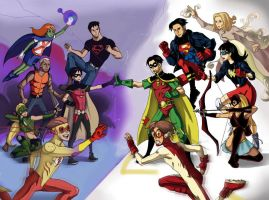 Young Justice by LadyDeadPooly