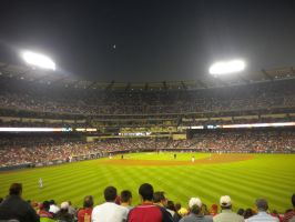 Angels game on 9-11 by redrum201