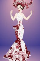 Jupiter Ascending Wedding Dress by LadyAquanine73551