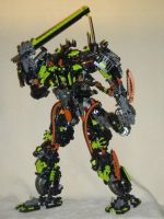 Bionicle MOC:Gravix-mechusCT 5 by Mana-Ramp-Matoran