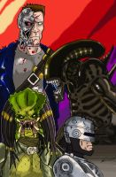Cyborgs and Aliens by Cybopath