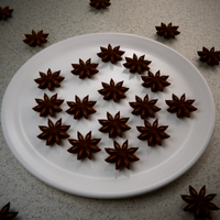 Plate of Star Anise by Terrance8d