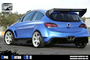Opel Astra WTCC by skilldesign01