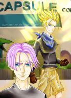 -Trunks- by MiriArt