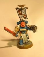 ultra-marines captain by Spungle