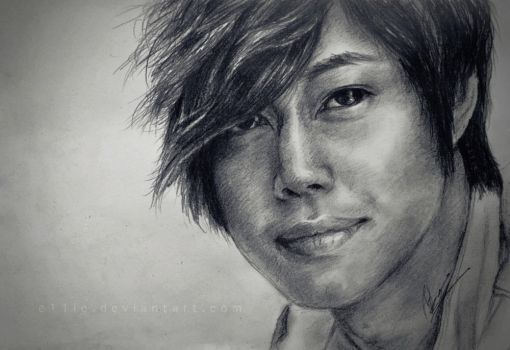 hyun joong by e11ie