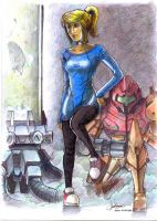 samus aran in casual style by microcastle