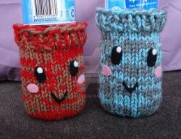 Kawaii Drink Cozies by Elmira-san