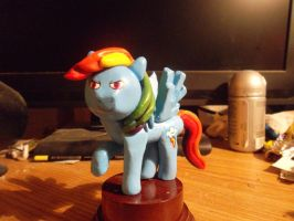 Rainbow Dash statuette finished. by McMesser