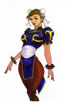 Chun-Li Color by qpmjcv