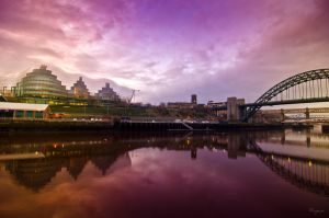 The Tyne by Wayman
