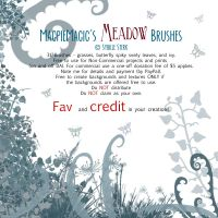 MM Meadow PS Brushes by MagpieMagic
