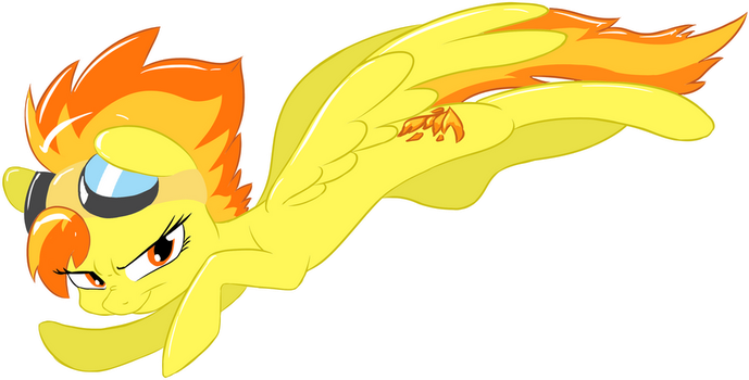 Spitfire by Dilarus