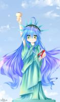 KONATA OF LIBERTY by TakuyaRawr