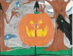 An Old Halloween drawing by ARTIST-SRF