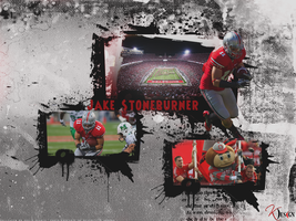 Jake Stoneburner Wallpaper by KevinsGraphics