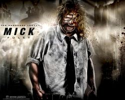 Mick Foley Wallpaper by workoutf