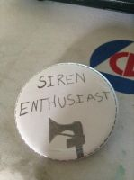 Siren enthusiast button I've created by tigerclaw64