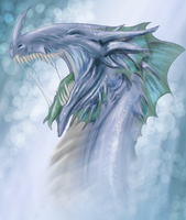 Malouxia's Dragon Colored by cheeny