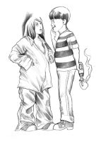 The Shrunken Babysitter by cluedog