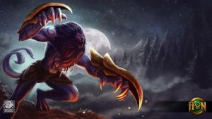 Throwback Night Hound for Heroes of Newerth by CrystalSully