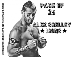 .:Alex Shelley Icon Pack:. by Neurotic-Idealist